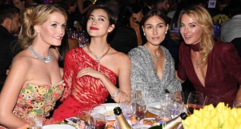 Неделя моды вМилане: звезды нагала-ужине amfAR