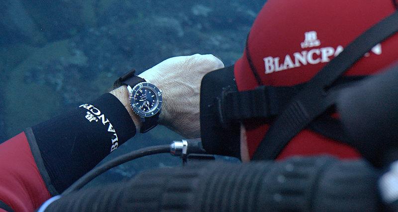 Blancpain подтверждает приверженность океану