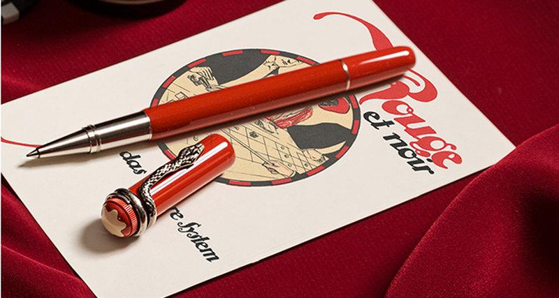 Новая коллекция Montblanc Heritage Collection Rouge & Noir Special Edition