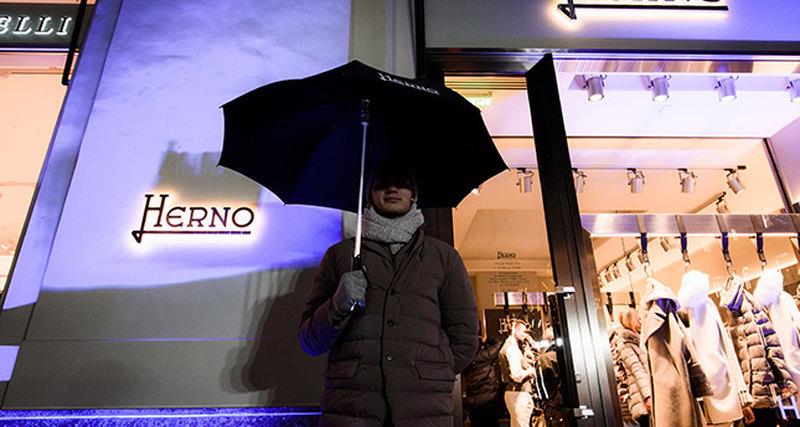 Флагманский бутик Herno открылся вМоскве