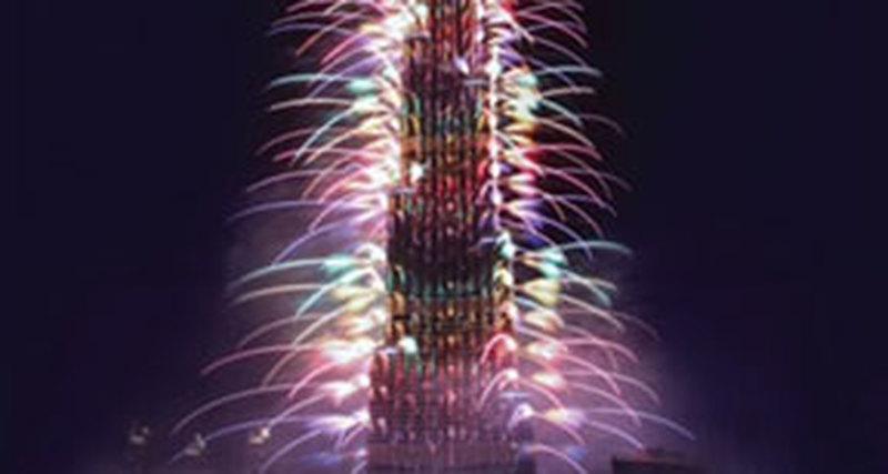 Чем удивит Новогодний салют вДубае в2017 году