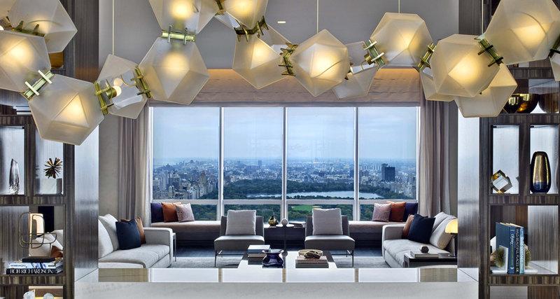 Как выглядит квартира всамом дорогом небоскребе Нью-Йорка