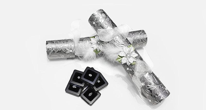 Появились Рождественские бриллиантовые хлопушки