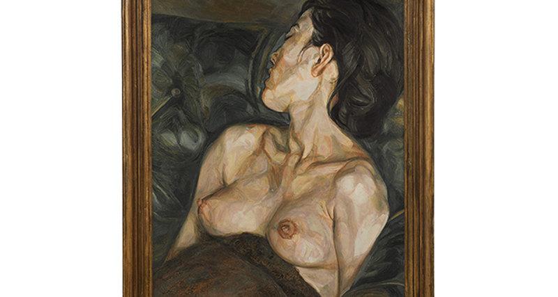 «Беременная девушка» Люсьена Фрейда будет выставлена нааукционе Сотбис