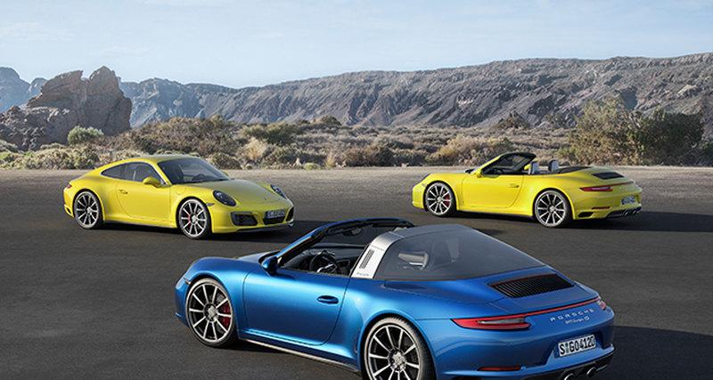 В конце января стартуют продажи обновлённой серии культового Porsche 911