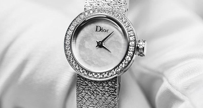 Новинка Dior Horlogerie - La D de Dior Satine 36mm