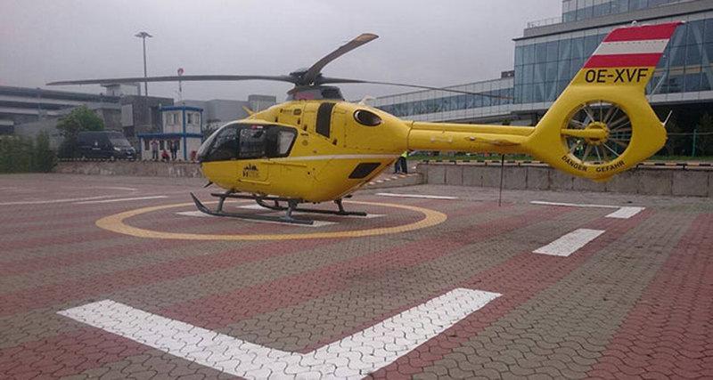 Airbus Helicopters впервые проводит демонстрационные полеты вертолета Н135 вРоссии