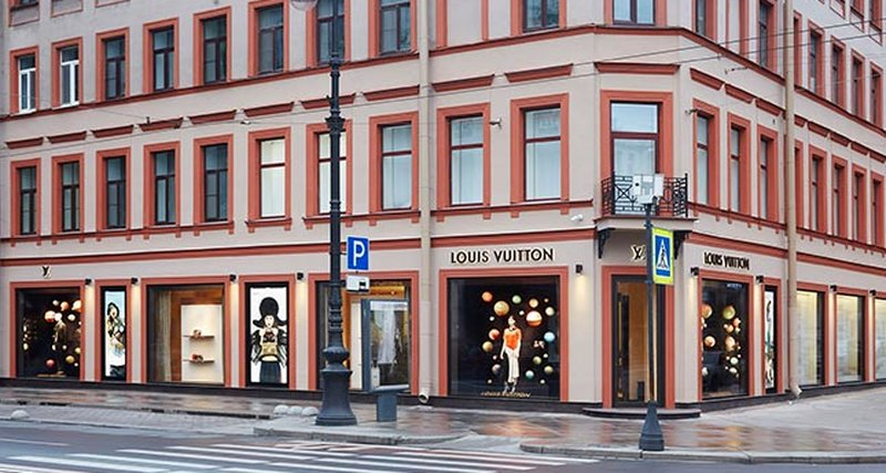 Открытие обновленного магазина Louis Vuitton вСанкт-Петербурге