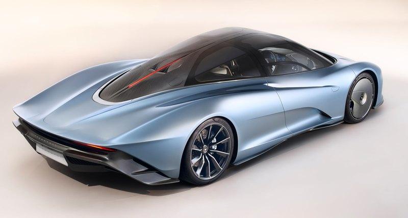 McLaren Speedtail стал самым быстрым автомобилем вистории марки