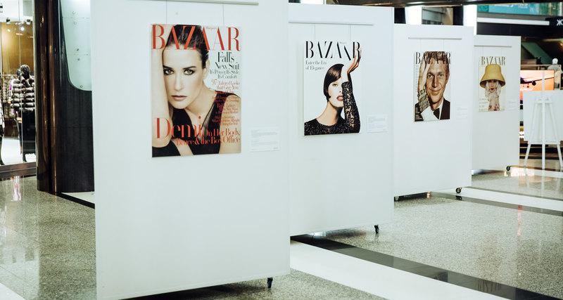 Выставка культовых обложек журнала Harper's Bazaar