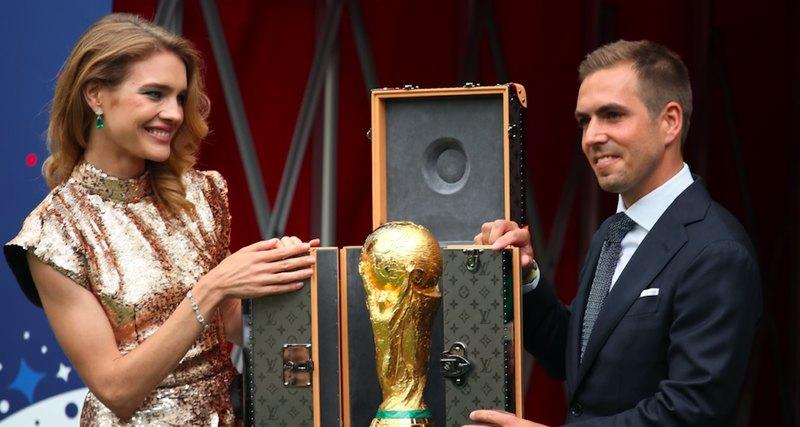 Наталья Водянова иКубок мира FIFA