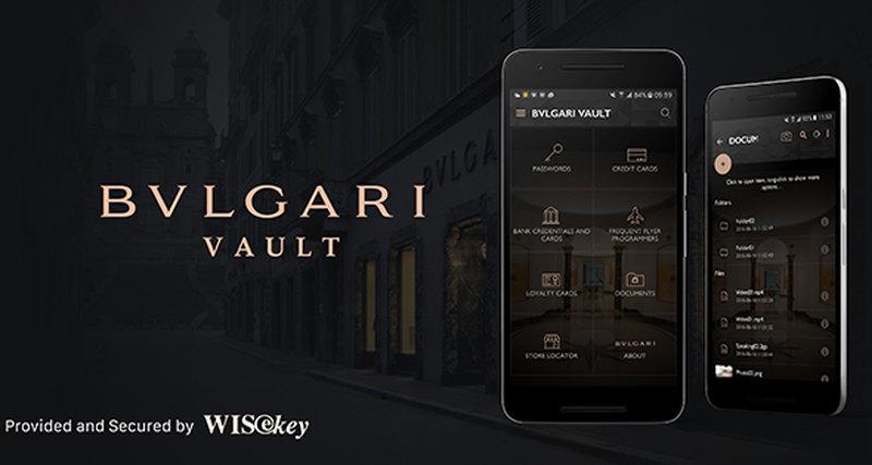 Приложение Bvlgari Vault App
