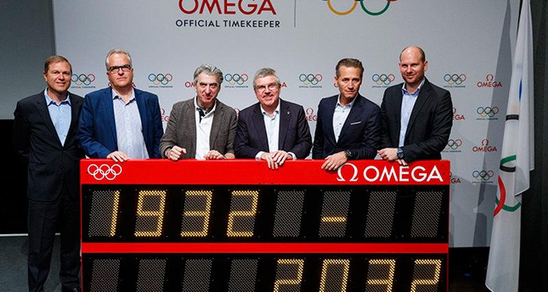 Omega - рекордсмен похронометрированию Олимпийских игр