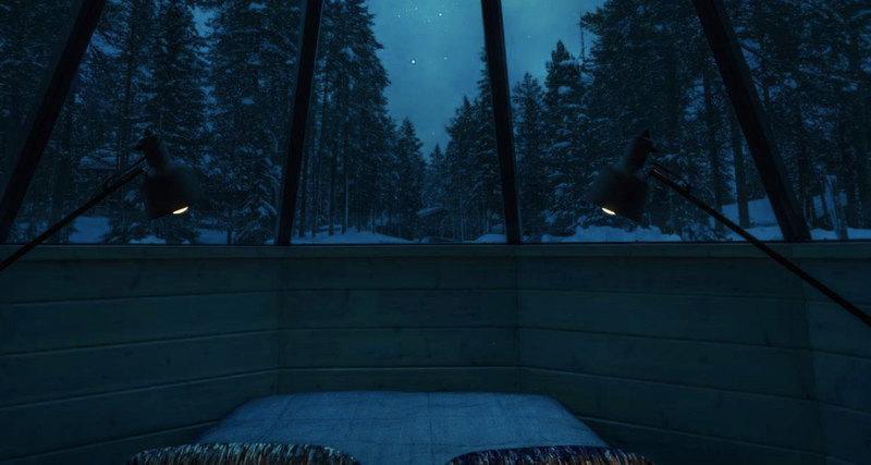 Как увидеть северное сияние черезкрышу